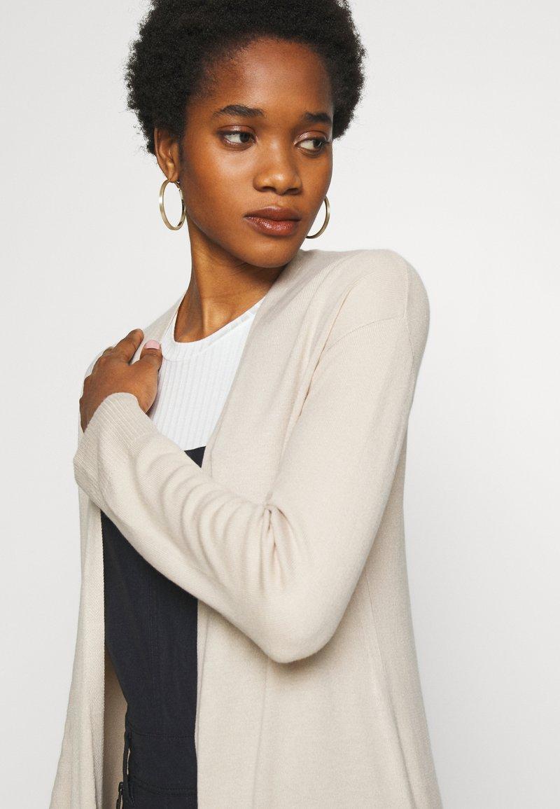 Cotton On FRANKIE LIGHTWEIGHT LONGLINE CARDI - Cardigan - beige