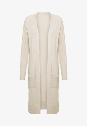 FRANKIE LIGHTWEIGHT LONGLINE CARDI - Cardigan - beige