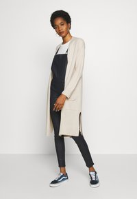 Cotton On - FRANKIE LIGHTWEIGHT LONGLINE CARDI - Cardigan - beige - 1