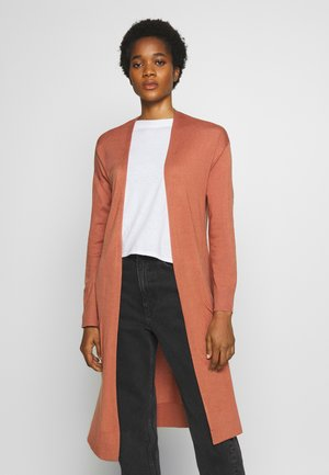 FRANKIE LIGHTWEIGHT LONGLINE CARDI - Gilet - canyon rose