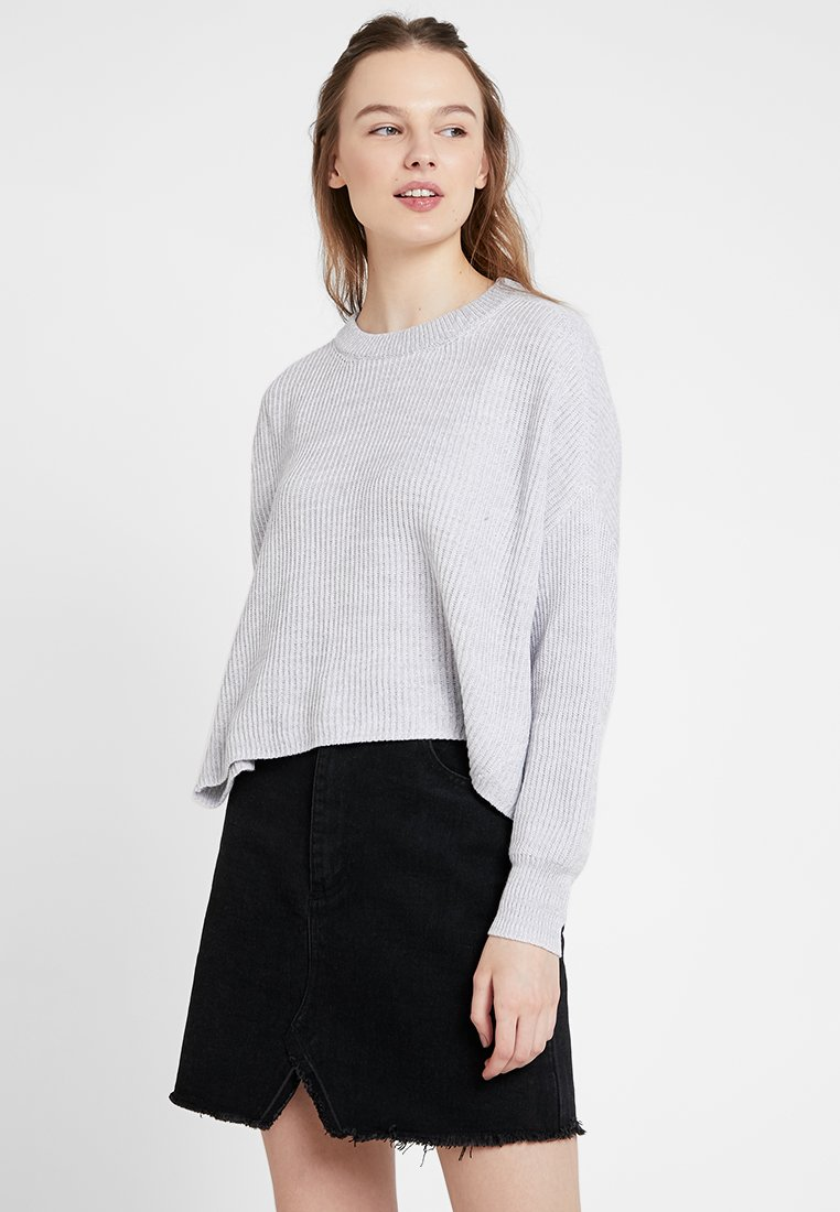 Cotton On - ARCHY CROPPED - Jumper - grey