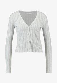 Cotton On - QUINNIE CROPPED CARDI - Cardigan - grey marle - 4