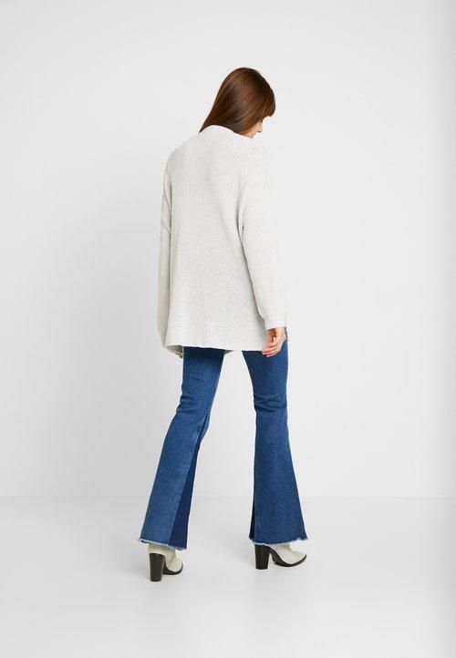 trwałe modelowanie Cotton On ARCHY CARDIGAN - Kardigan - windstream white twist Odzież Damska OEPK-RR1