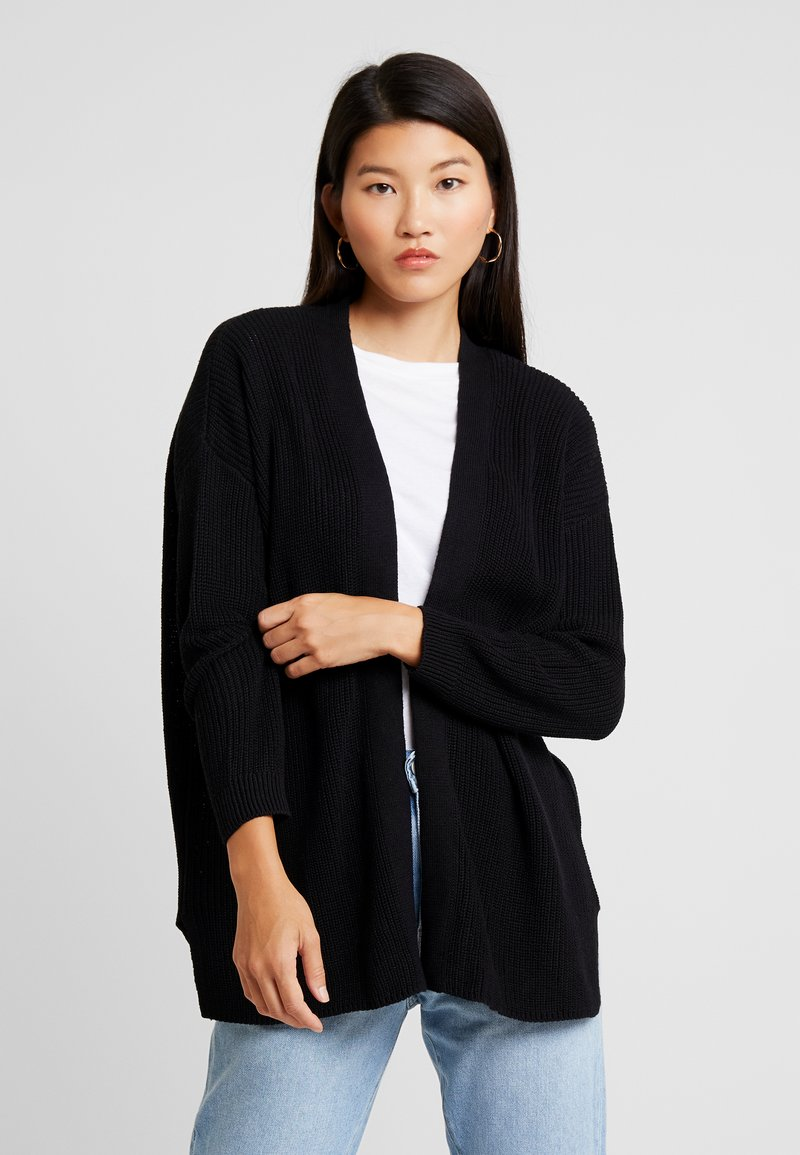 Cotton On - ARCHY CARDIGAN - Strickjacke - black