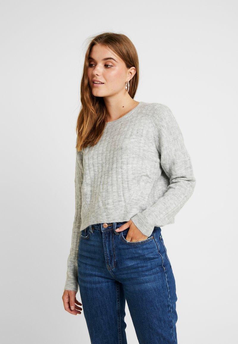 Cotton On - LEXI RAGLAN - Strikkegenser - grey marle