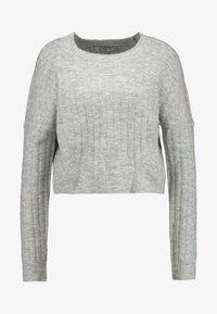 Cotton On - LEXI RAGLAN - Strikkegenser - grey marle - 3