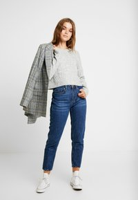 Cotton On - LEXI RAGLAN - Strikkegenser - grey marle - 1