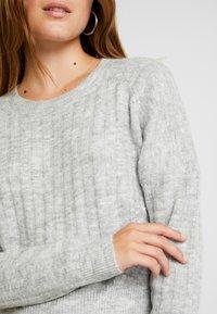 Cotton On - LEXI RAGLAN - Strikkegenser - grey marle - 4