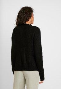 Cotton On - KATE BRUSHED CARDI - Chaqueta de punto - black - 2