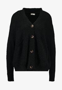 Cotton On - KATE BRUSHED CARDI - Chaqueta de punto - black - 3