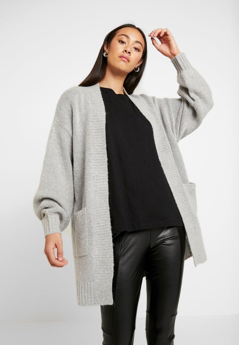 Cotton On - AMELIA SLOUCH CARDI - Vest - grey marle
