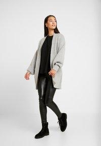 Cotton On - AMELIA SLOUCH CARDI - Vest - grey marle - 1