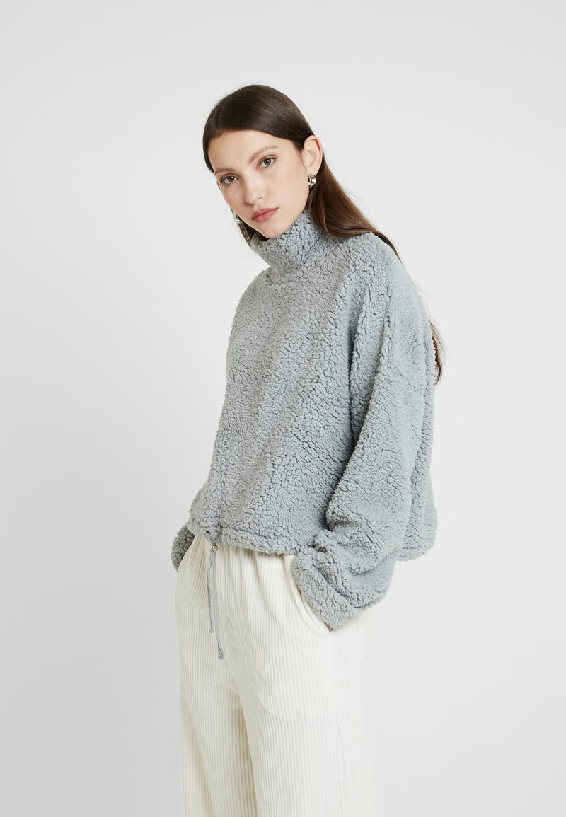 Cotton On - FUNNEL NECK TEDDY - Bluza - high rise