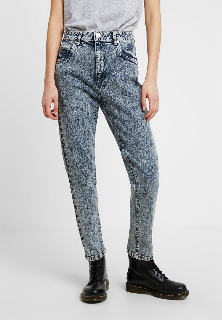 Cotton On - HIGH RISE - Slim fit jeans - blue denim