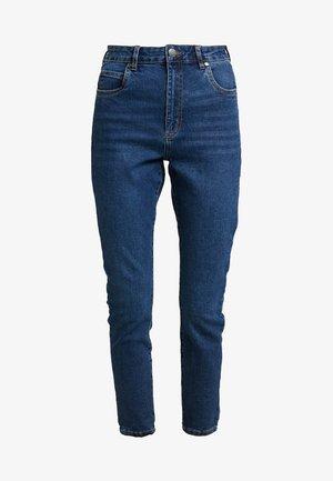 HIGH RISE CROPPED - Skinny džíny - true stone blue