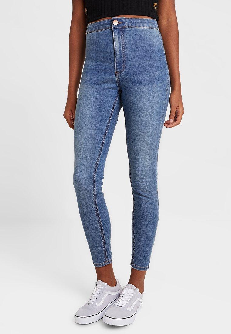 Cotton On - HIGH RISE - Skinny džíny - blue