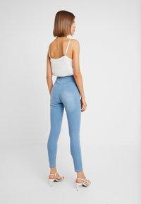 Cotton On - HIGH RISE - Skinny džíny - skyway mid blue - 2