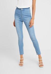Cotton On - HIGH RISE - Skinny džíny - skyway mid blue - 0