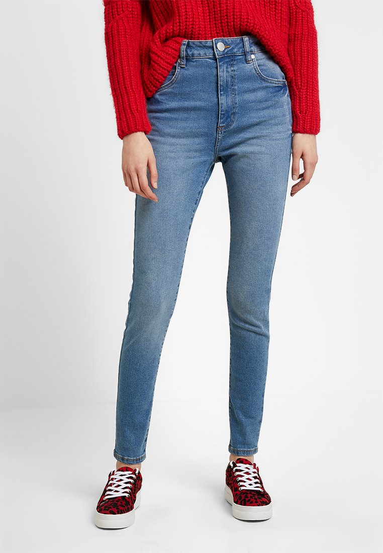 Cotton On - HIGH  - Jeans Skinny Fit - mid blue wash