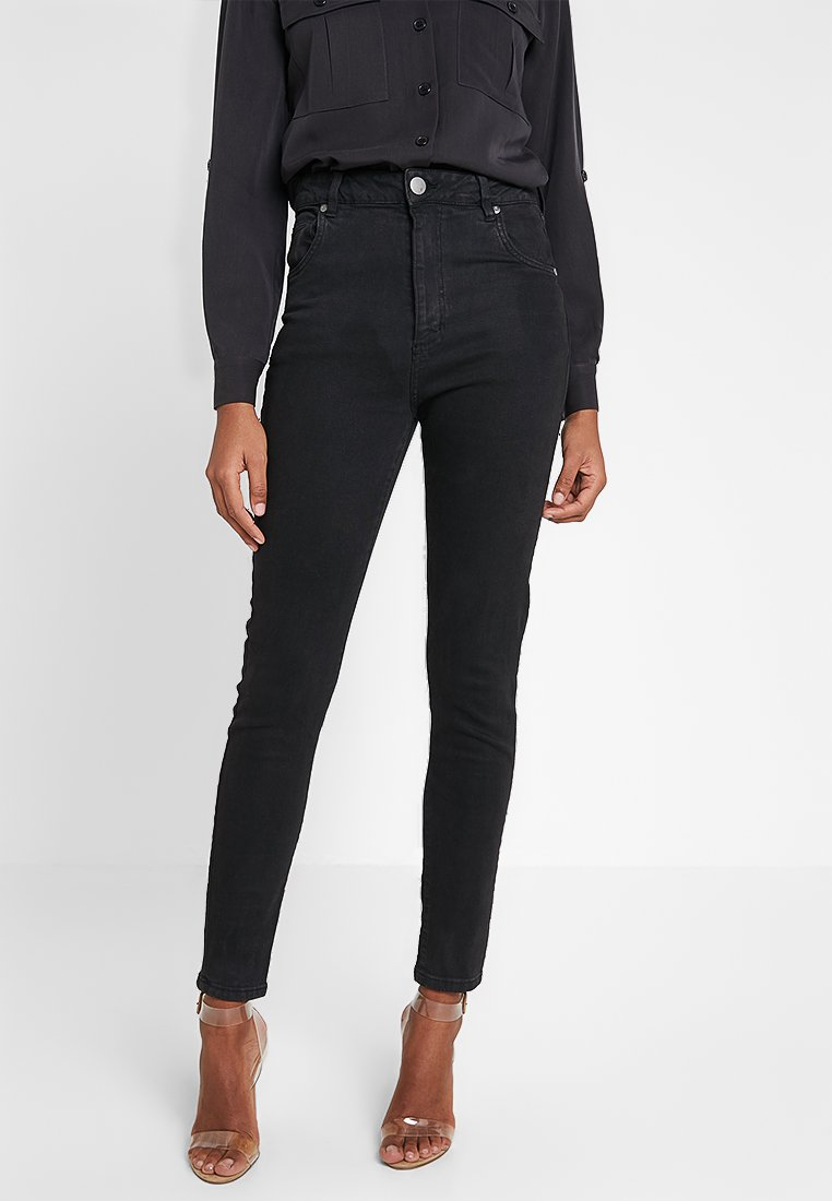 Cotton On - HIGH  - Jeans Skinny Fit - black wash