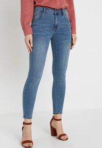 Cotton On - MID RISE GRAZER  - Skinny džíny - core blue - 0