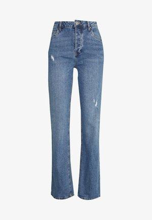 HIGH STRETCH - Jeans Straight Leg - bronte blue