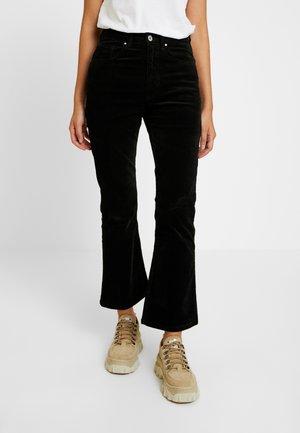 GRAZER - Trousers - black