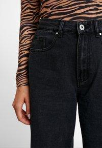 Cotton On - HIGH RISE WIDE LEG - Flared Jeans - vintage black - 3