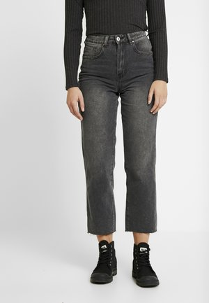 HIGH - Jean droit - super wash black