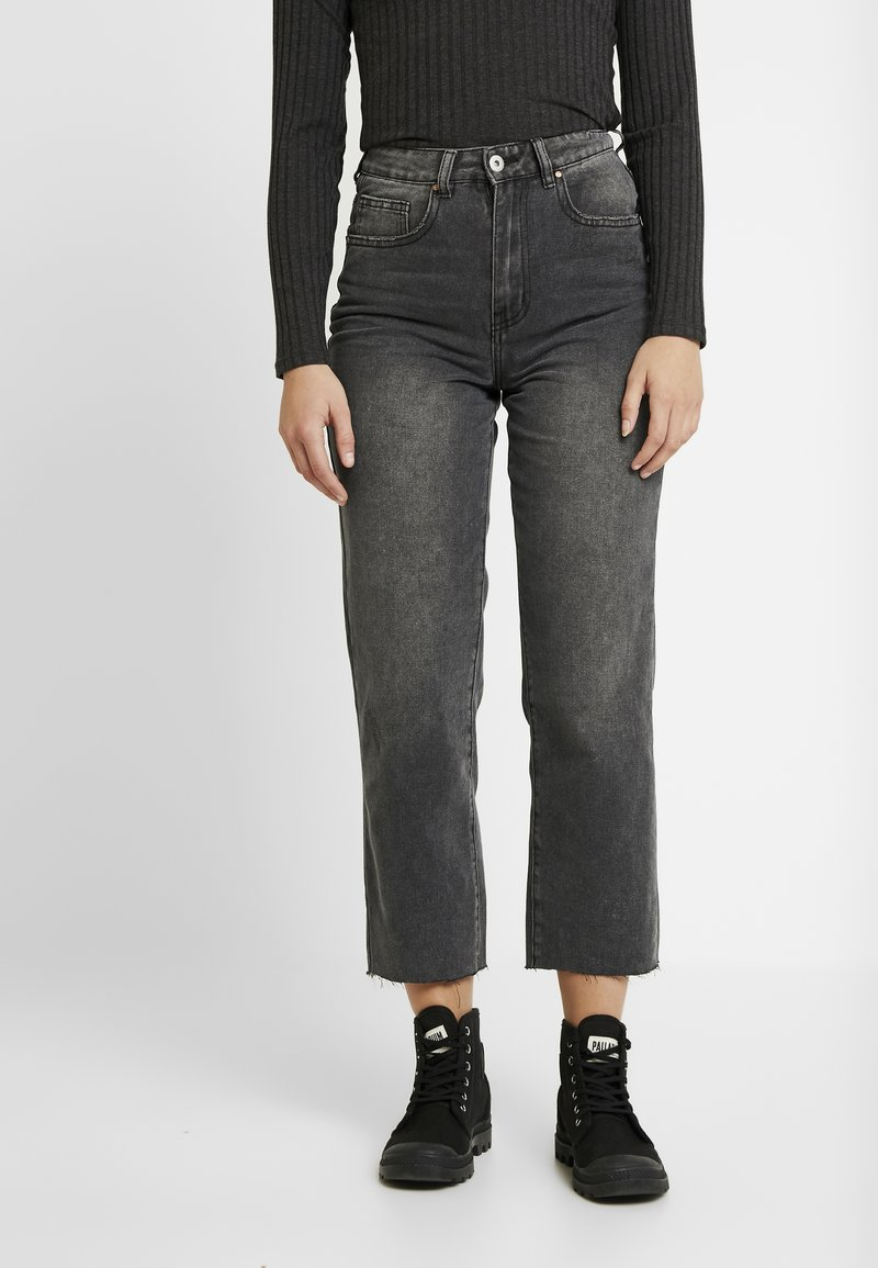 Cotton On - HIGH - Jeans Straight Leg - super wash black