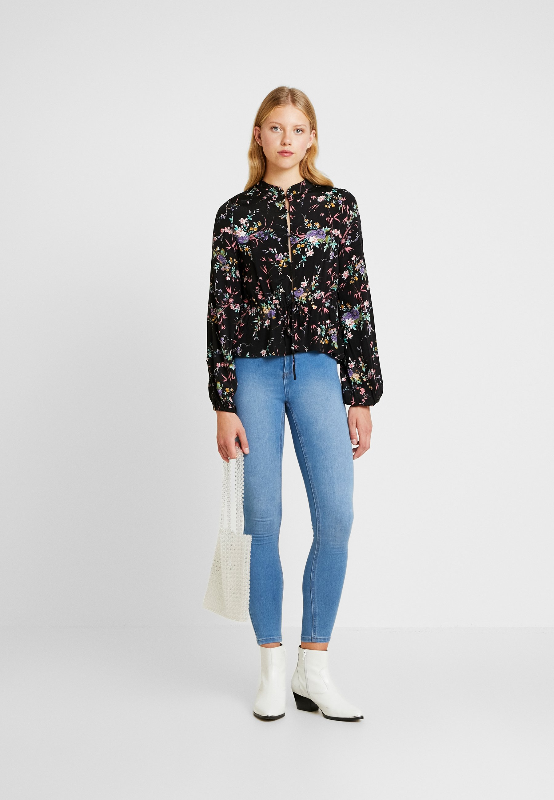 Cotton On ULTRA HIGH SUPER STRETCH - Jeansy Skinny Fit - bells blue
