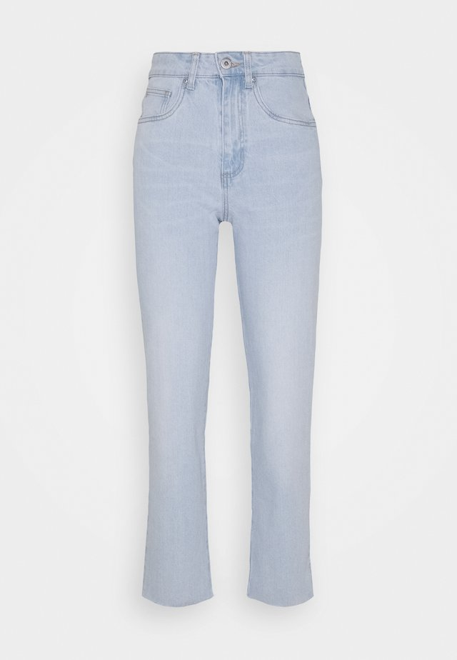STRETCH  - Straight leg jeans - bondi blue