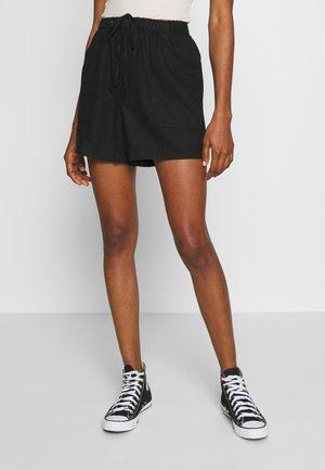 DRAPEY LONGLINE - Shorts - black