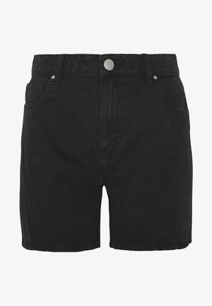 HIGH RISE MILEY  - Jeansshorts - stonewash black