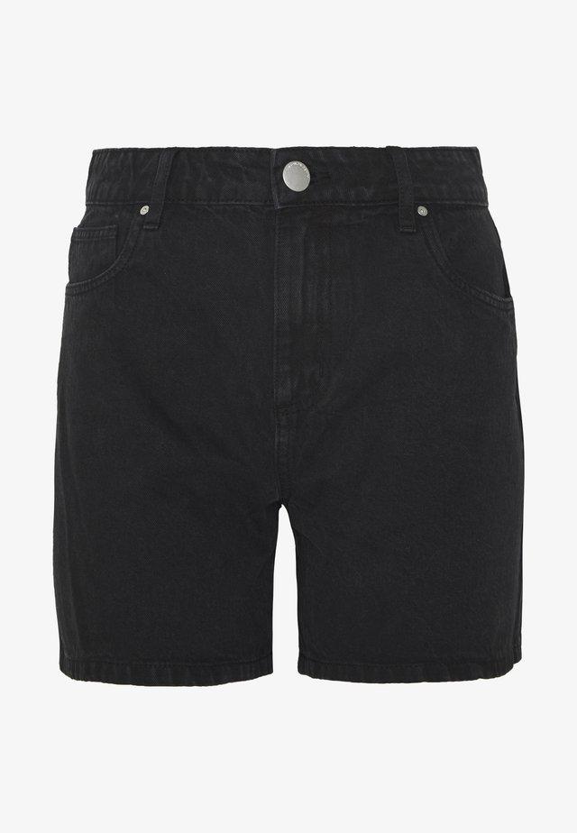 HIGH RISE MILEY  - Szorty jeansowe - stonewash black