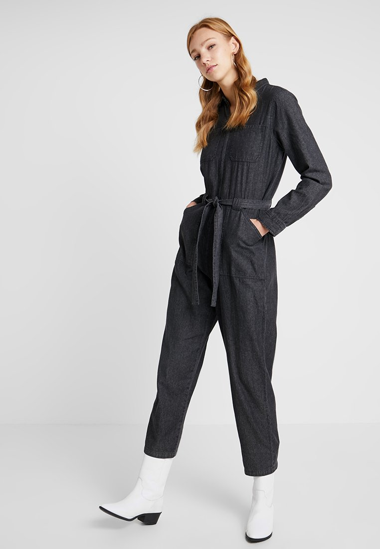 Cotton On - ANGIE PARACHUTE BOILER - Overal - black