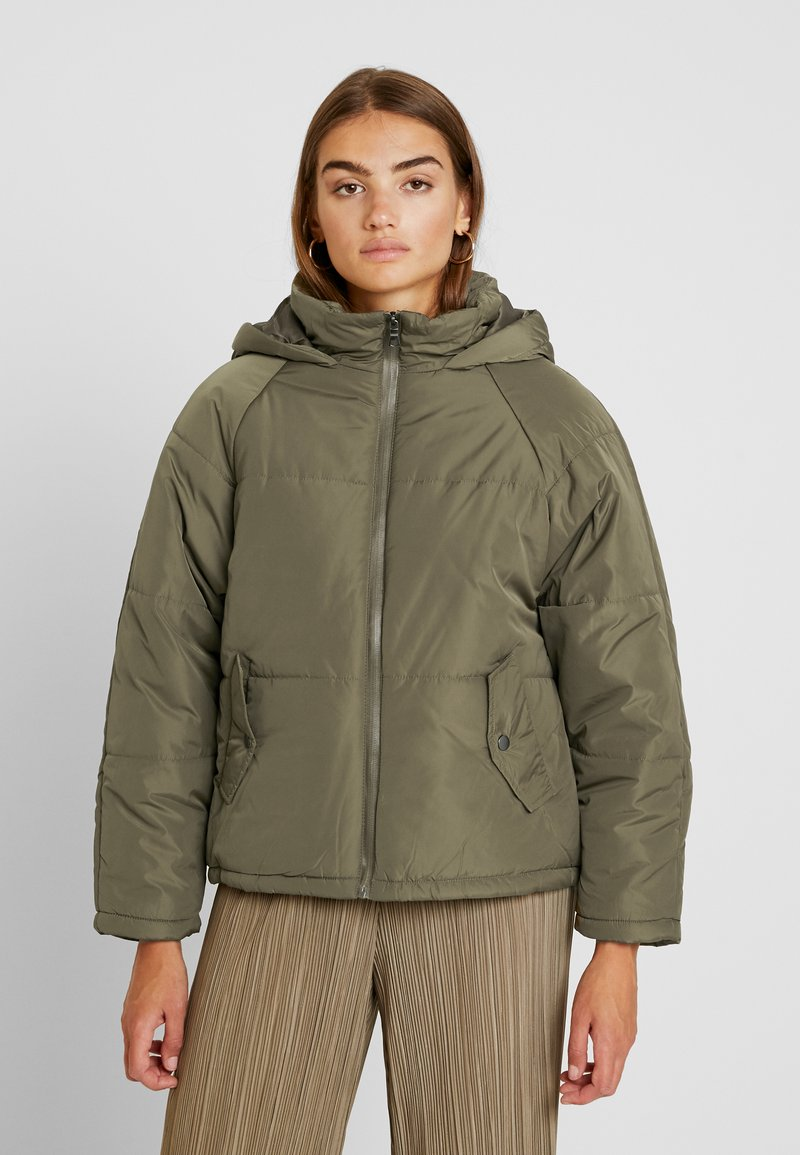 Cotton On - RUDI RAGLAN PUFFER - Light jacket - khaki