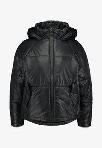 Cotton On - RUDI RAGLAN PUFFER - Välikausitakki - high shine black - 3