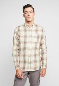 Cotton On - BRUNSWICK SLIM FIT - Skjorta - natural bold check - 0