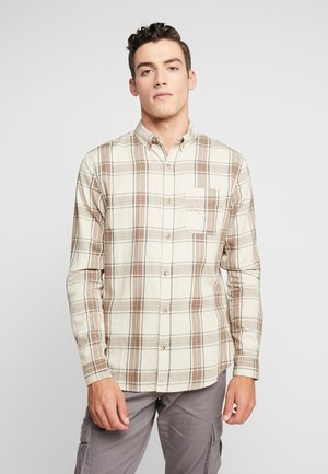 BRUNSWICK SLIM FIT - Overhemd - natural bold check