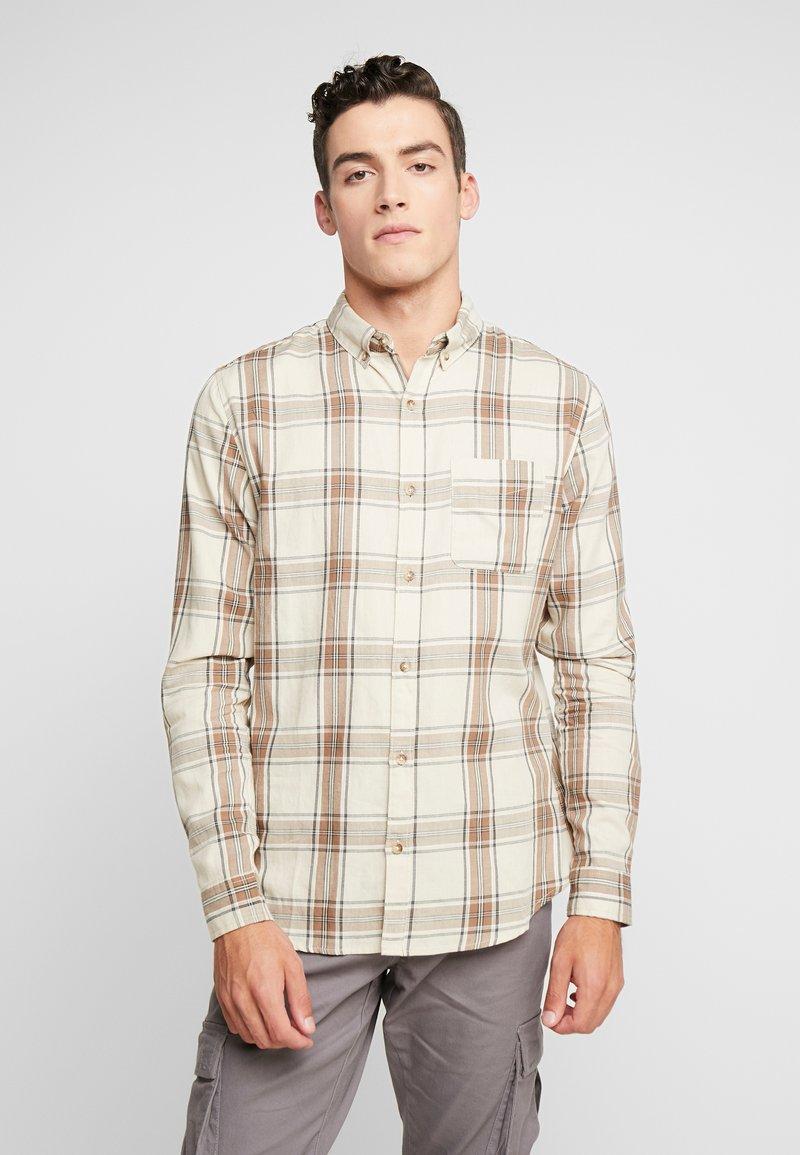Cotton On - BRUNSWICK SLIM FIT - Skjorta - natural bold check