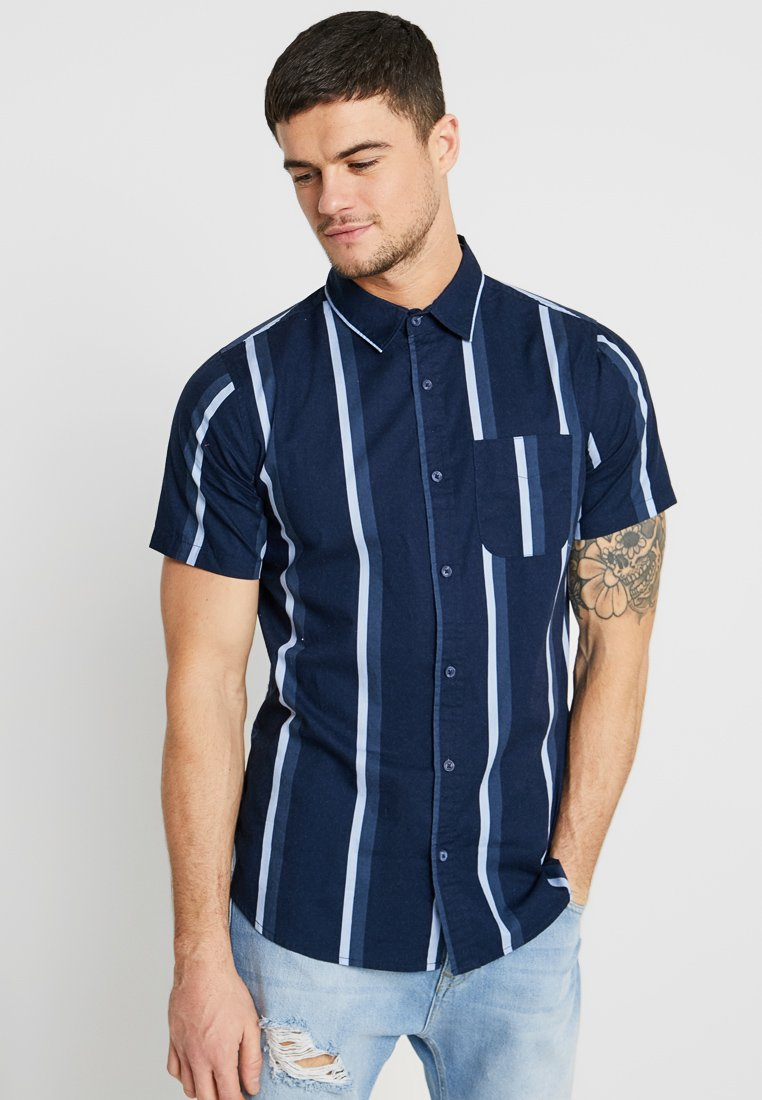 Cotton On - VINTAGE PREP SHORT SLEEVE - Overhemd - navy