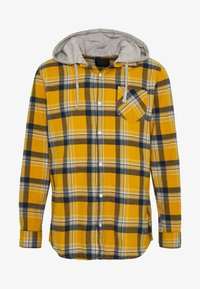 Cotton On - RUGGED HOODED SHIRT - Camisa - yellow - 3