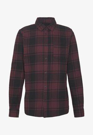 RUGGED LONG SLEEVE - Overhemd - black burg check