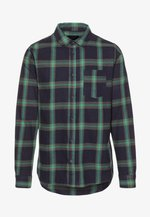RUGGED LONG SLEEVE - Shirt - navy/green