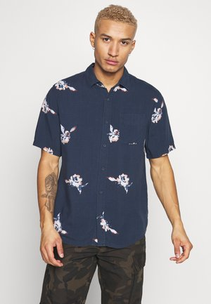 SPACED FLORAL - Shirt - navy