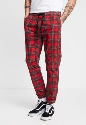 DRAKE CUFFED PANT - Kalhoty - red