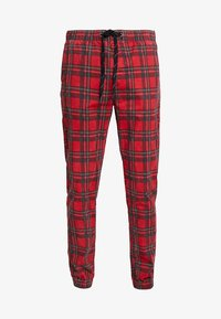 Cotton On - DRAKE CUFFED PANT - Tygbyxor - red - 4