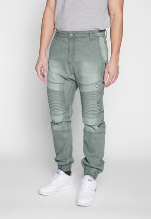 Relaxed fit jeans - off grey