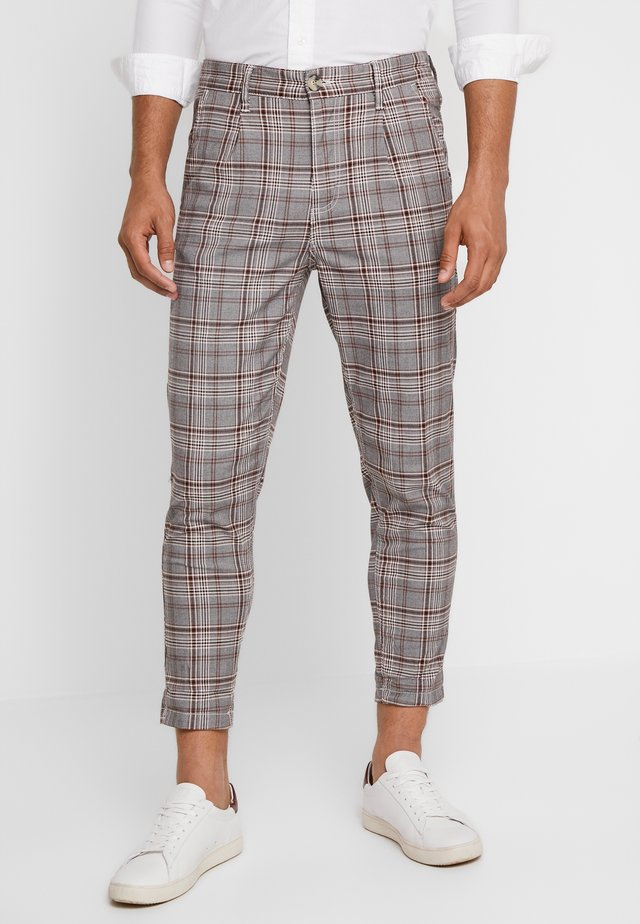 OXFORD TROUSER - Trousers - grey prince